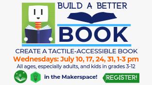 Studio 775: Create a Tactile-Accessible Book - Register