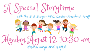 Storytime with BBRC Preschool Staff