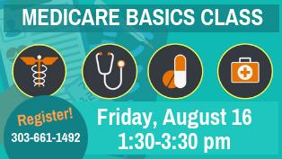 Medicare Basics Class - Register with Senior Services
