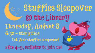 Stuffies Sleep Over - Register