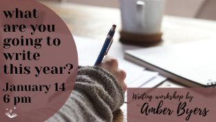 What Are You Going to Write This Year? by Amber Byers