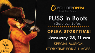 The Boulder Opera Storytime: Puss in Boots