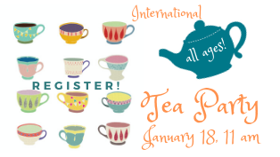 International Tea Party - Register