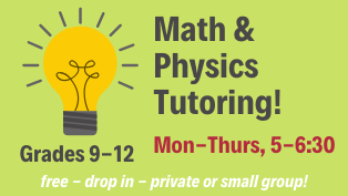 Math/Physics Tutoring