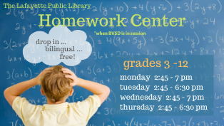 Homework Center Open
