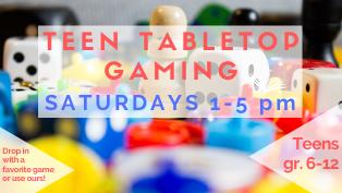 Teen Tabletop Gaming