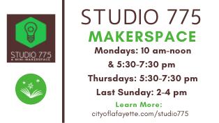 Studio 775 Open