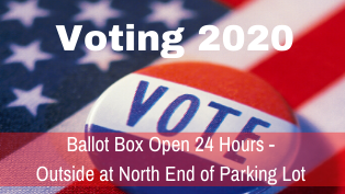 Voter Ballot Box Open 24 Hours