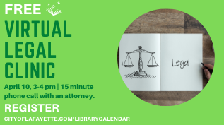 Virtual Legal Clinic - Register