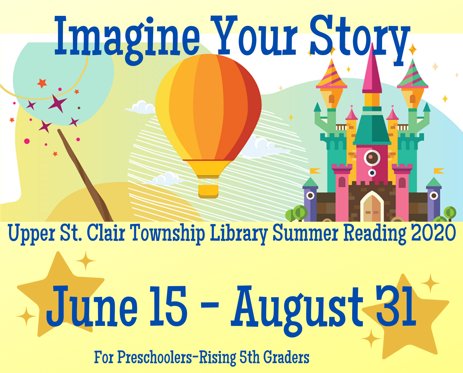 Imagine Your Story: Online Summer Reading for Kids