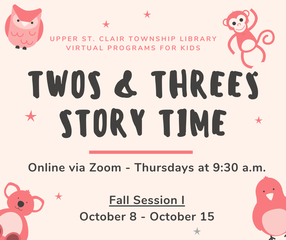 Zoom Twos & Threes Story Time
