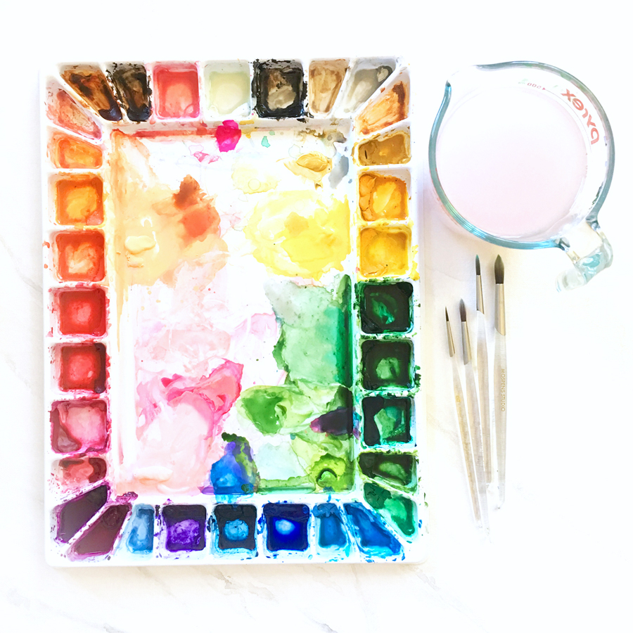 Makery @ Middletown: Intro to Watercolor Painting