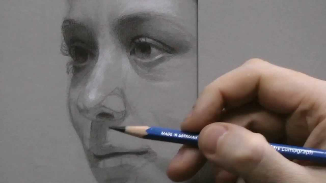 Intro to Portrait Drawing w/ Veronica Batter of the Rockdale Art Center