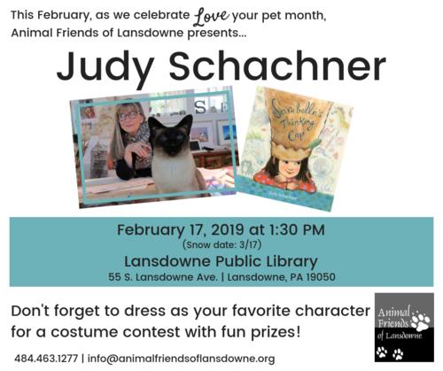 Love Your Pet Month: Judy Schachner