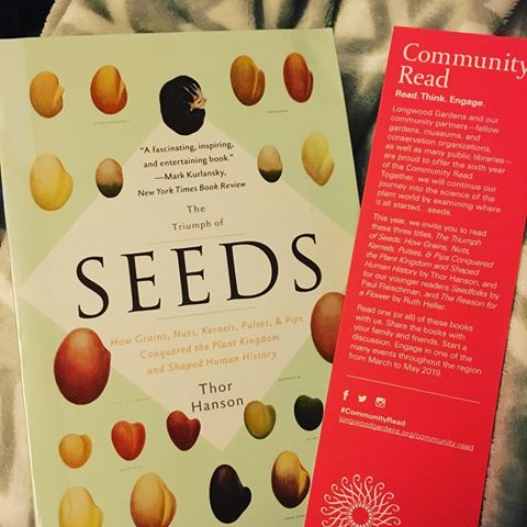 Role of Seeds in Society and Culture – A Longwood In Your Library Program