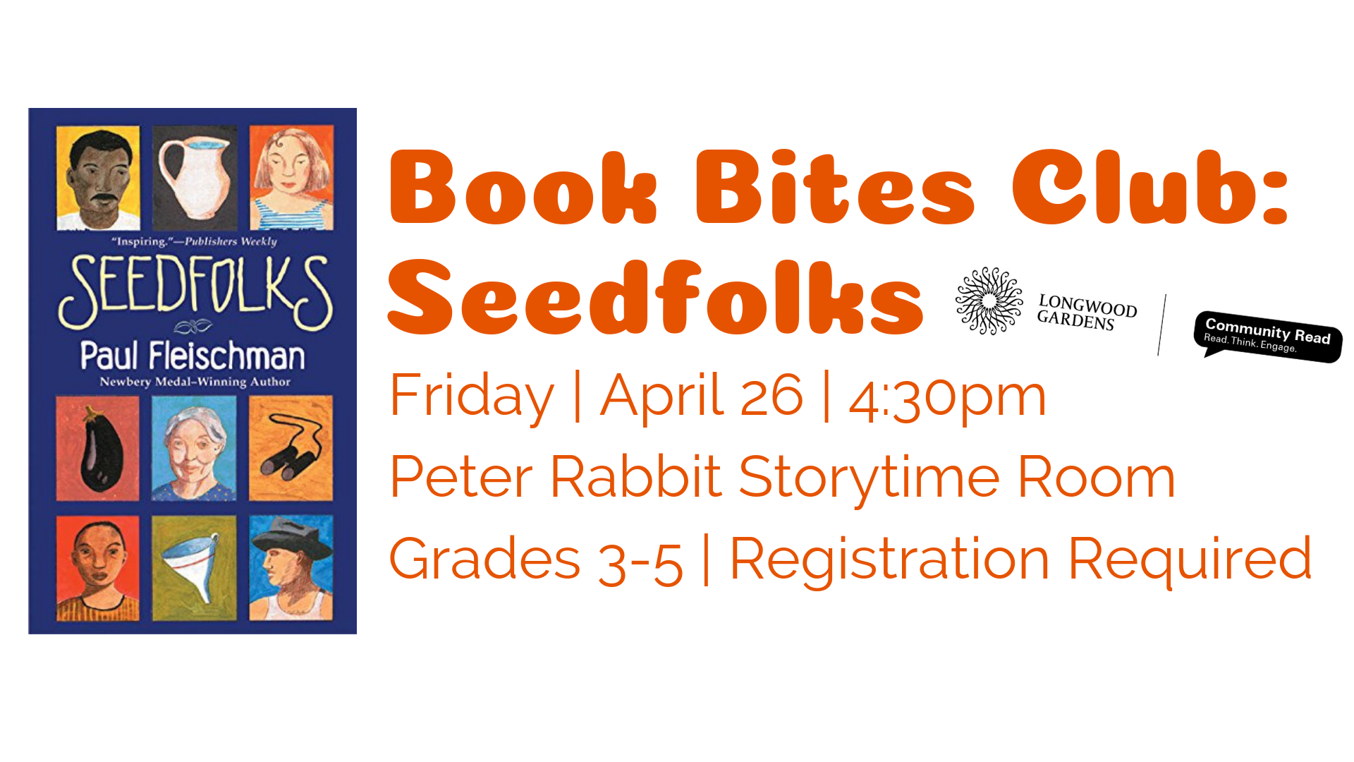 Book Bites Club: Seedfolks