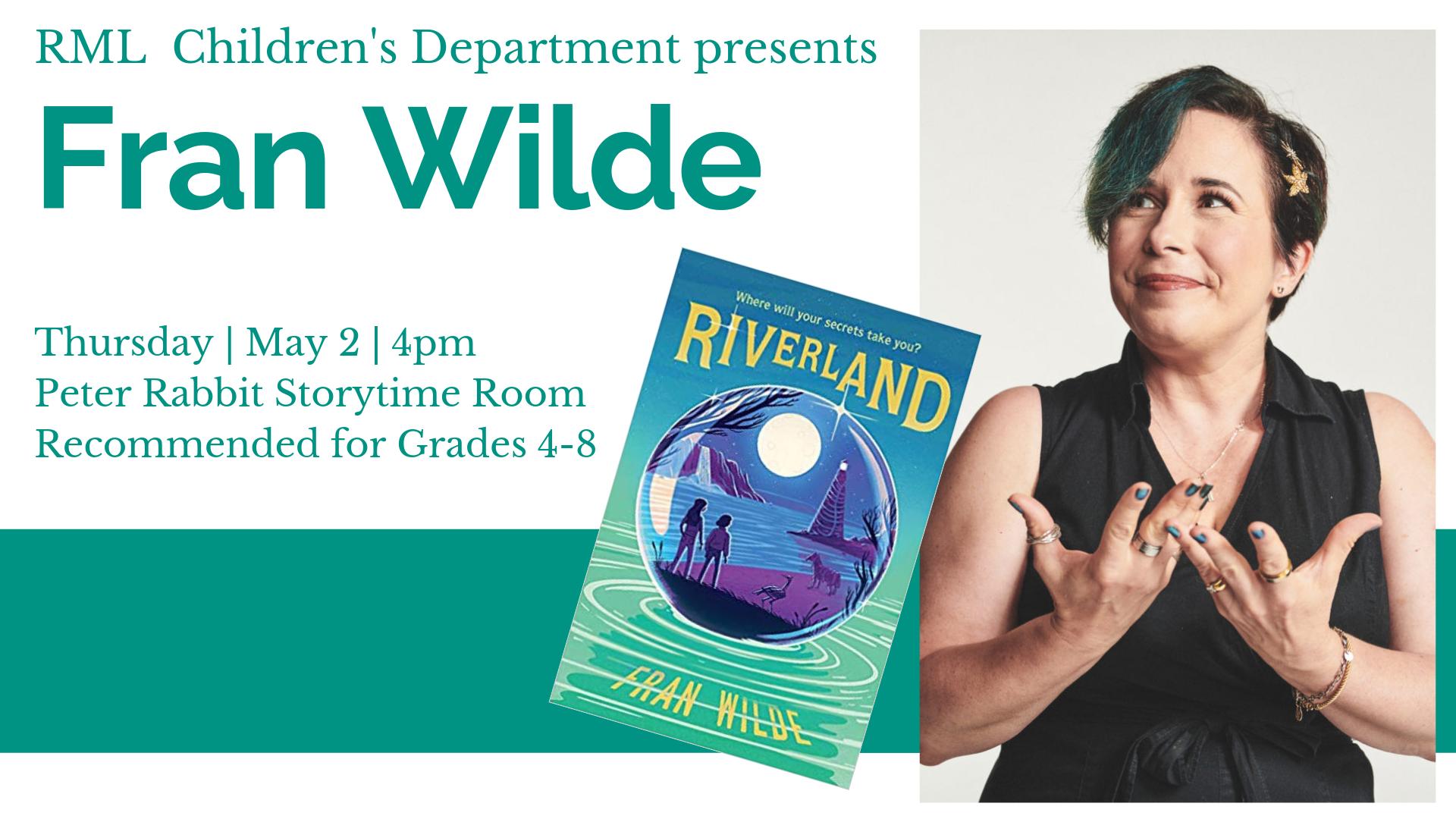Fran Wilde: Author Visit