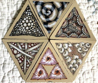 Zentangle Workshop w/ Sheryl: Renaissance Tiles