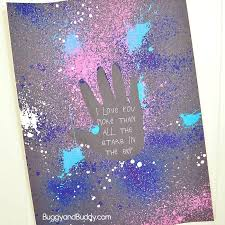 ART CLUB:  Galaxy Handprint Art