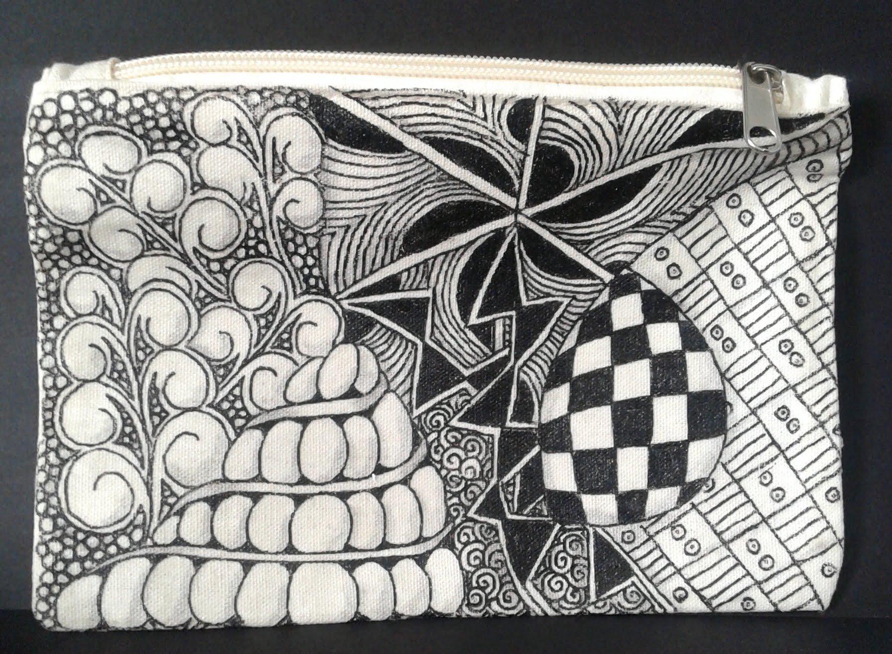 Zentangle Workshop w/ Sheryl: Zentangle on Canvas