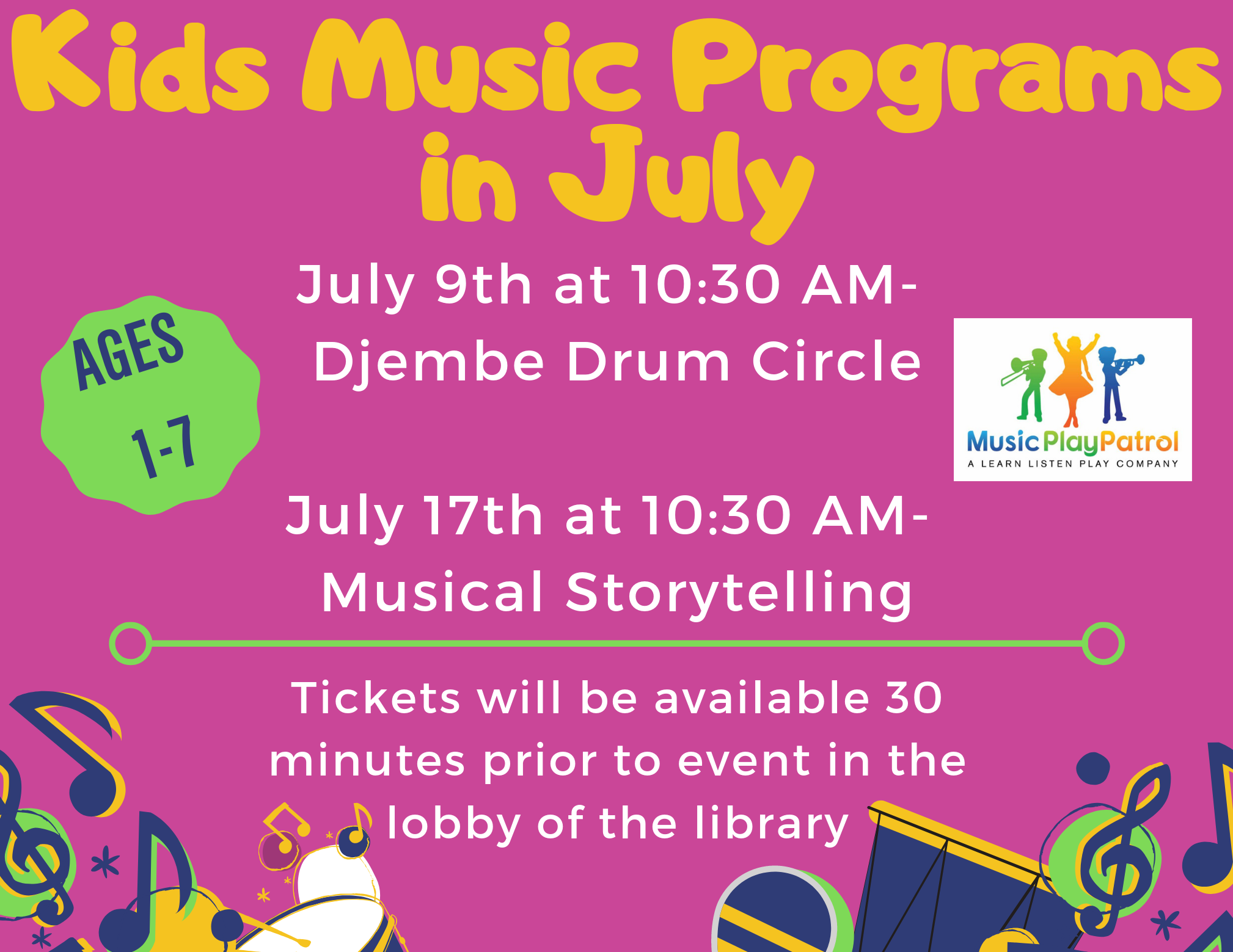Musical Storytelling with Music Play Patrol