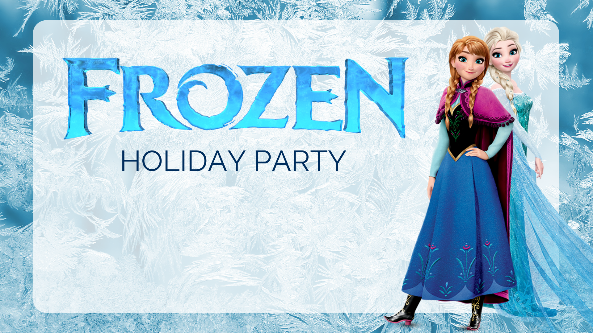 Frozen Holiday Party