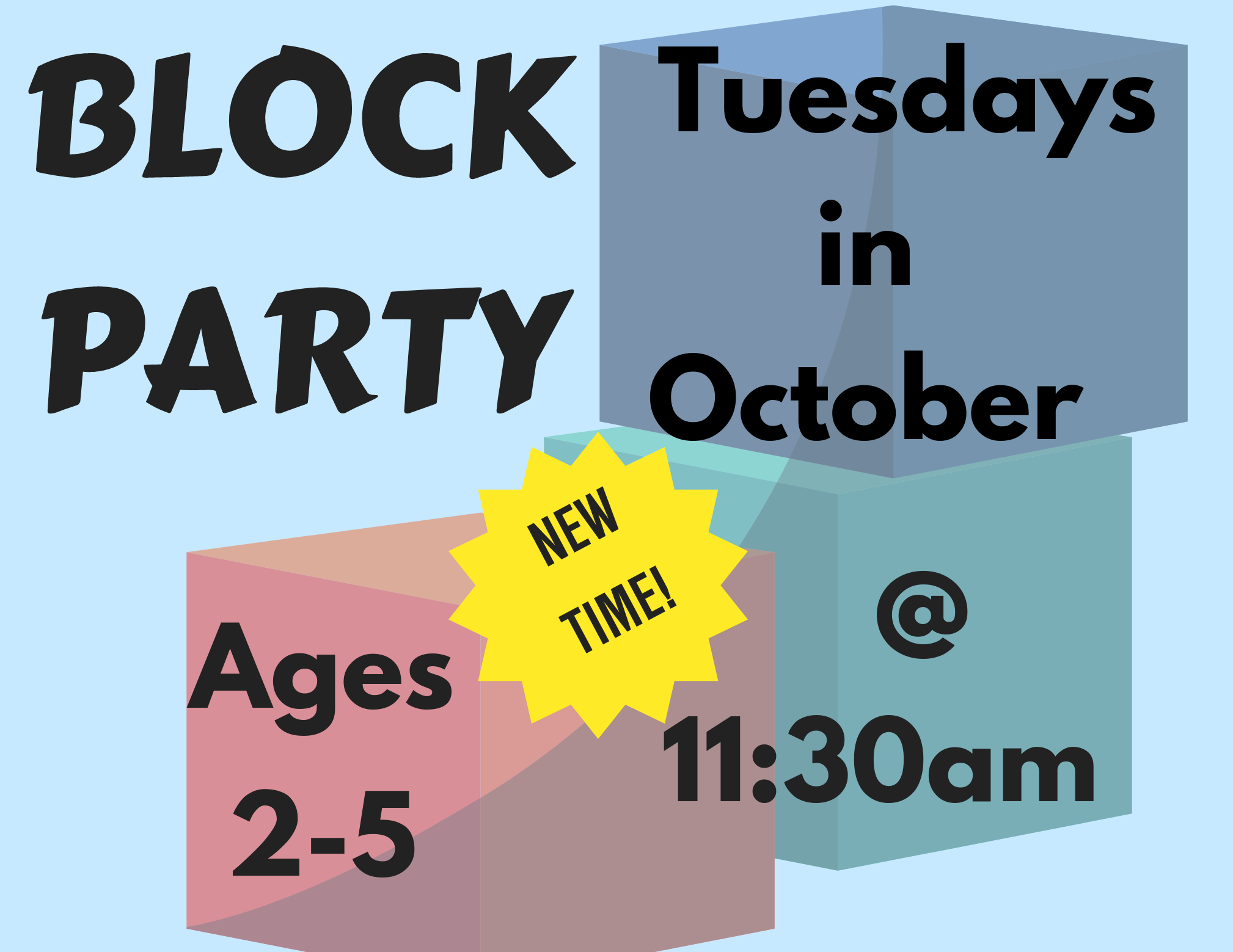 Block Party **New Time**