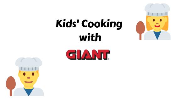 Preschool Cooking w/Giant Food Stores
