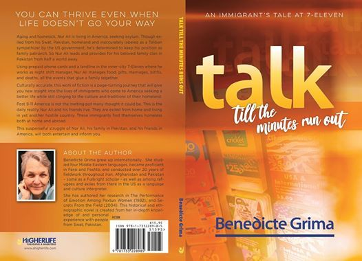 """Author Talk: Benedicte Grima """" Talk Till the Minutes Run Out - An Immigrant's Tale at 7-Eleven"""""""