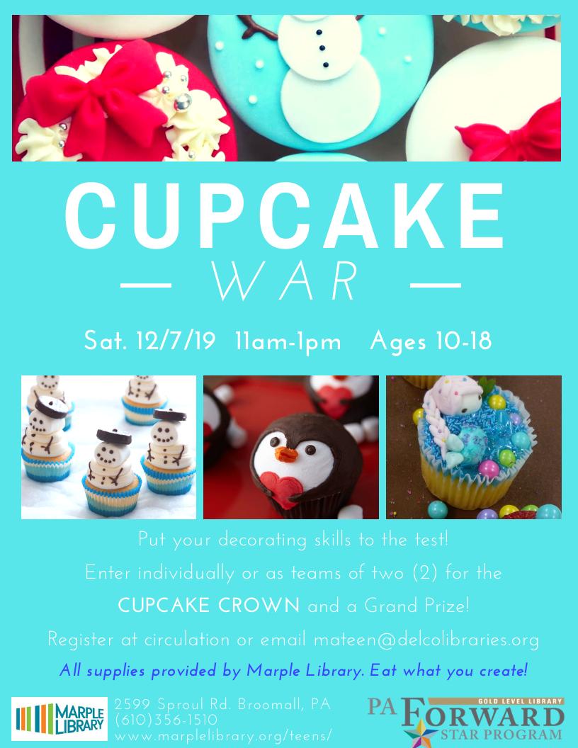 Cupcake War!
