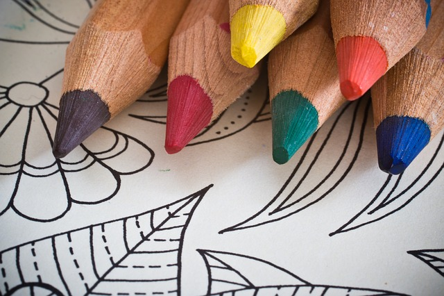 Color Your Cares Away: Adult Coloring