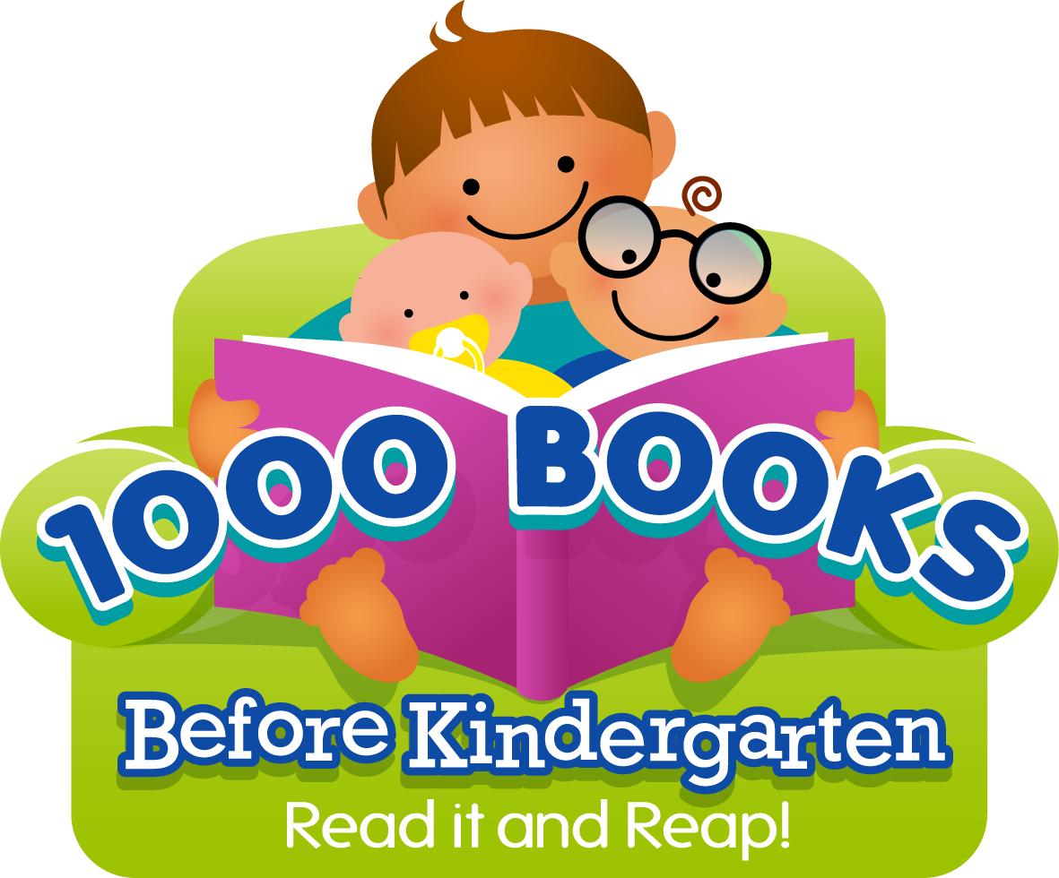 1,000 Books Before Kindergarten Kickoff!