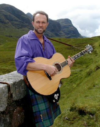 The History of the Jacobite Risings in Song and Story - Celtic Music Concert by Charlie Zahm