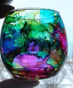Makery @ Middletown: Alcohol Ink Glass Painting