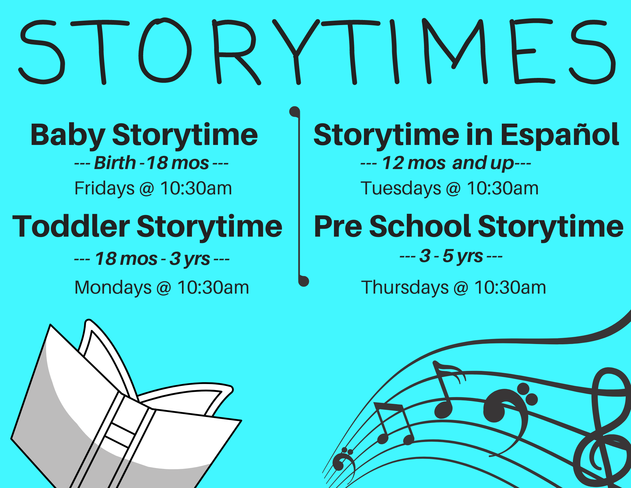 CANCELLED: Baby Storytime