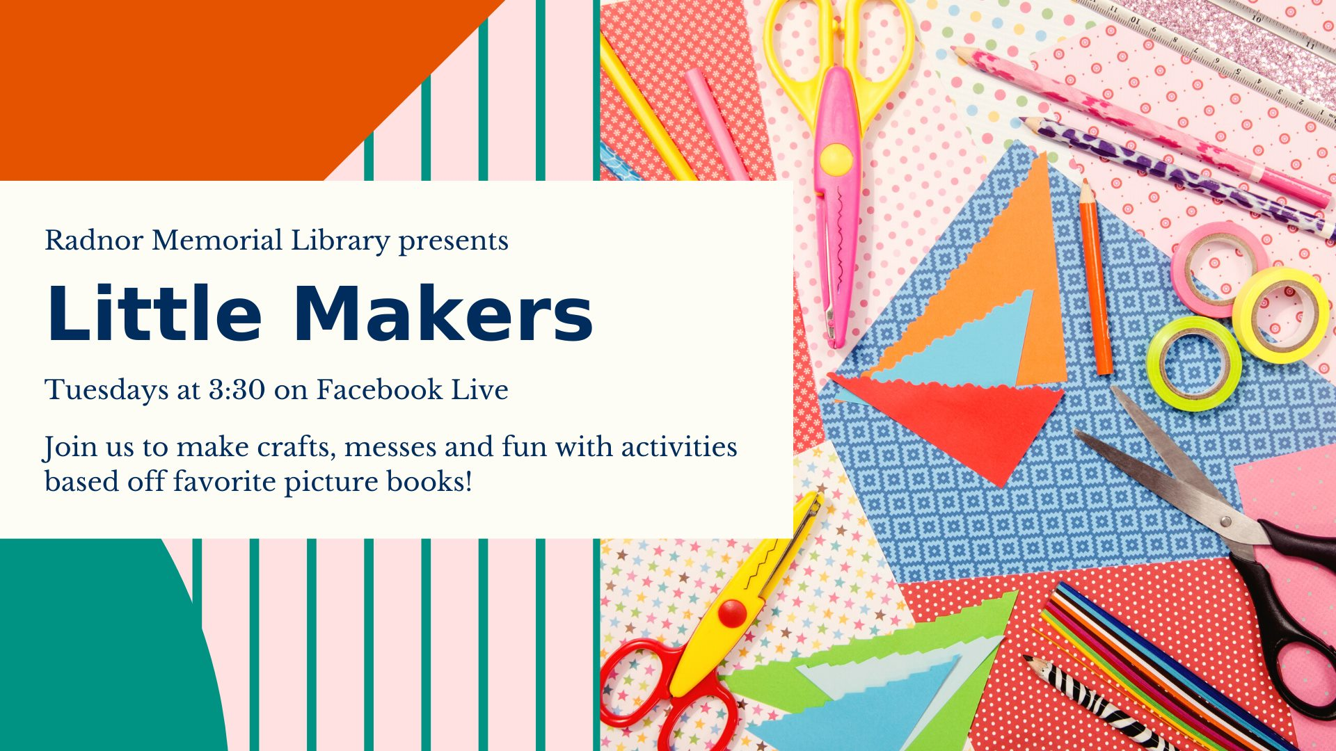 Little Makers on FB Live
