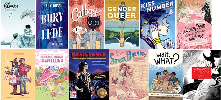 Pride for Teens: Celebration of LGBTQ Graphic Novels