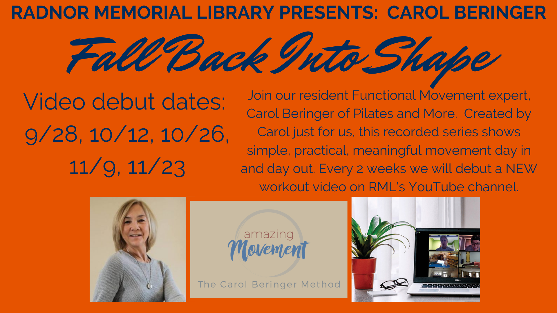 Fall Back Into Shape! A New RML Video Series