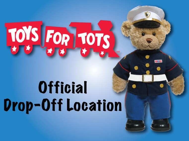 Toys for Tots Donation Drop-Off