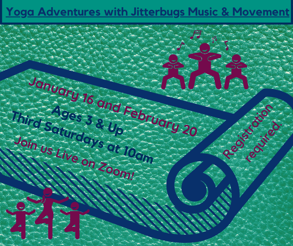 Yoga Adventures with Jitterbugs Music & Movement