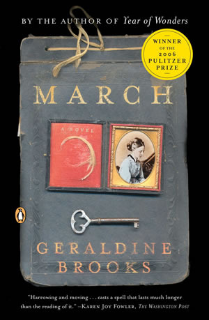 Virtual Reading Cafe Book Club: March by Geraldine Brooks