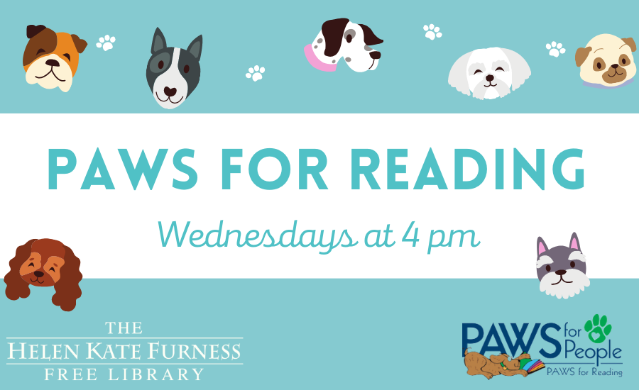 PAWS for Reading in Person!