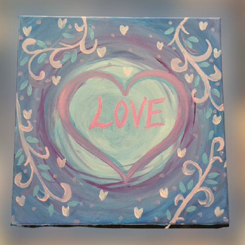 All You Need Is Love: Painting with Joann