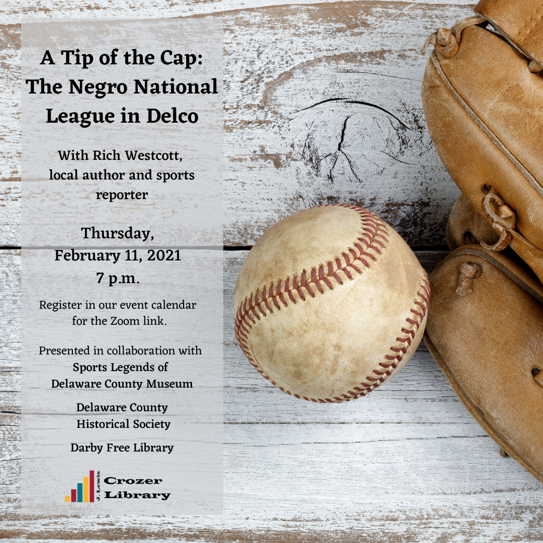 A Tip of the Cap:  The Negro National League in Delco
