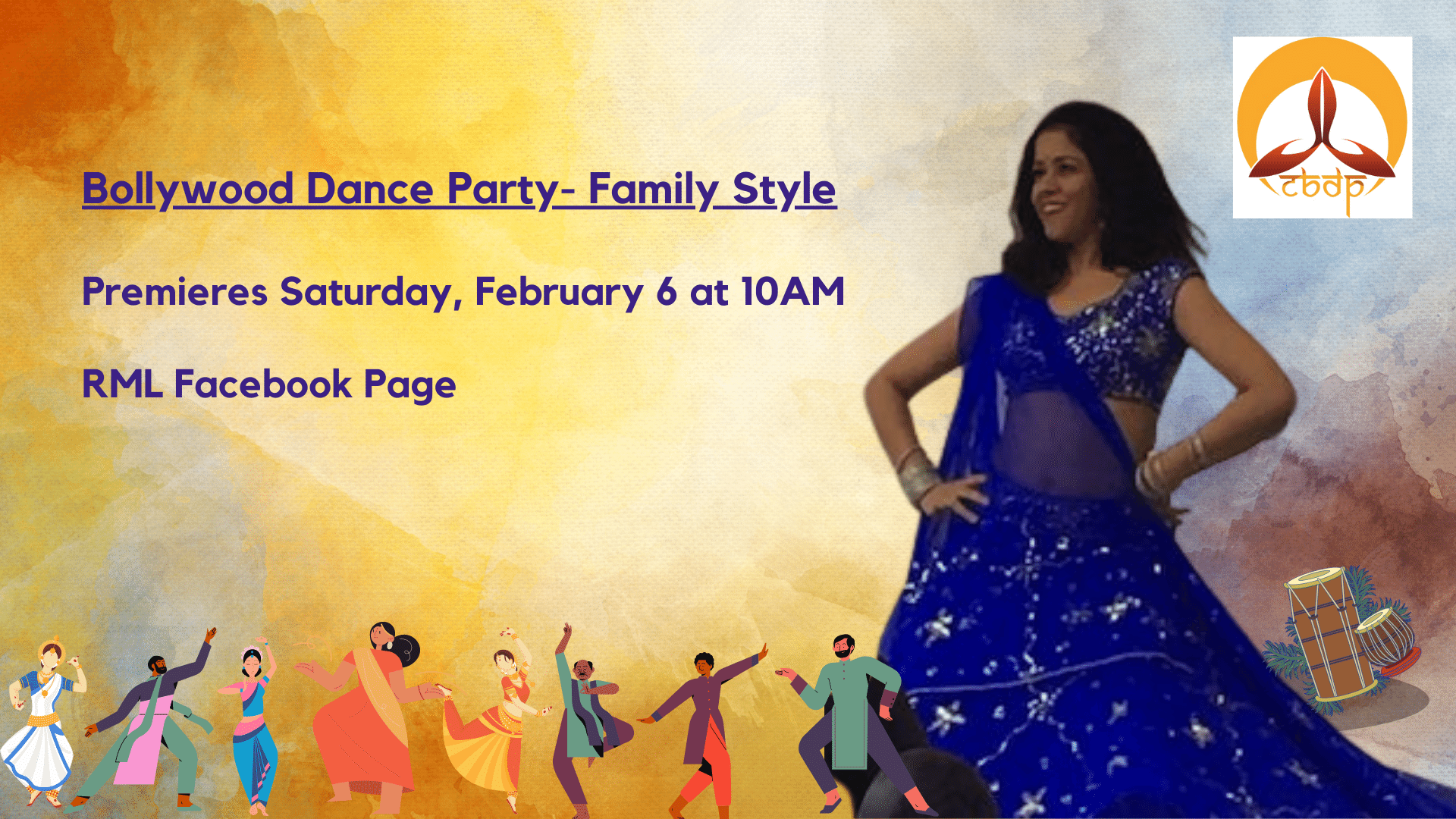 Bollywood Dance Party - Family Style