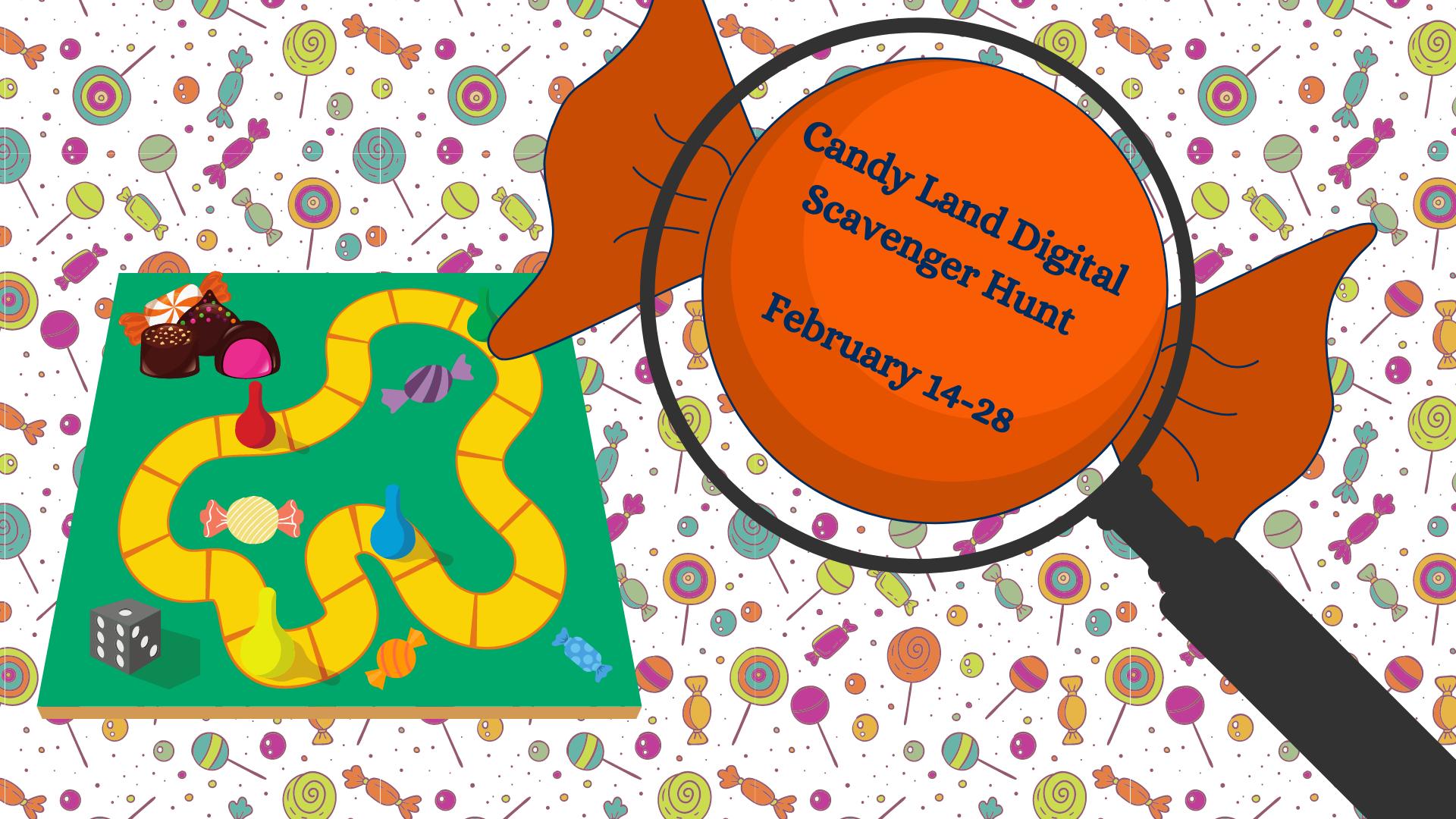 Candy Land Digital Scavenger Hunt