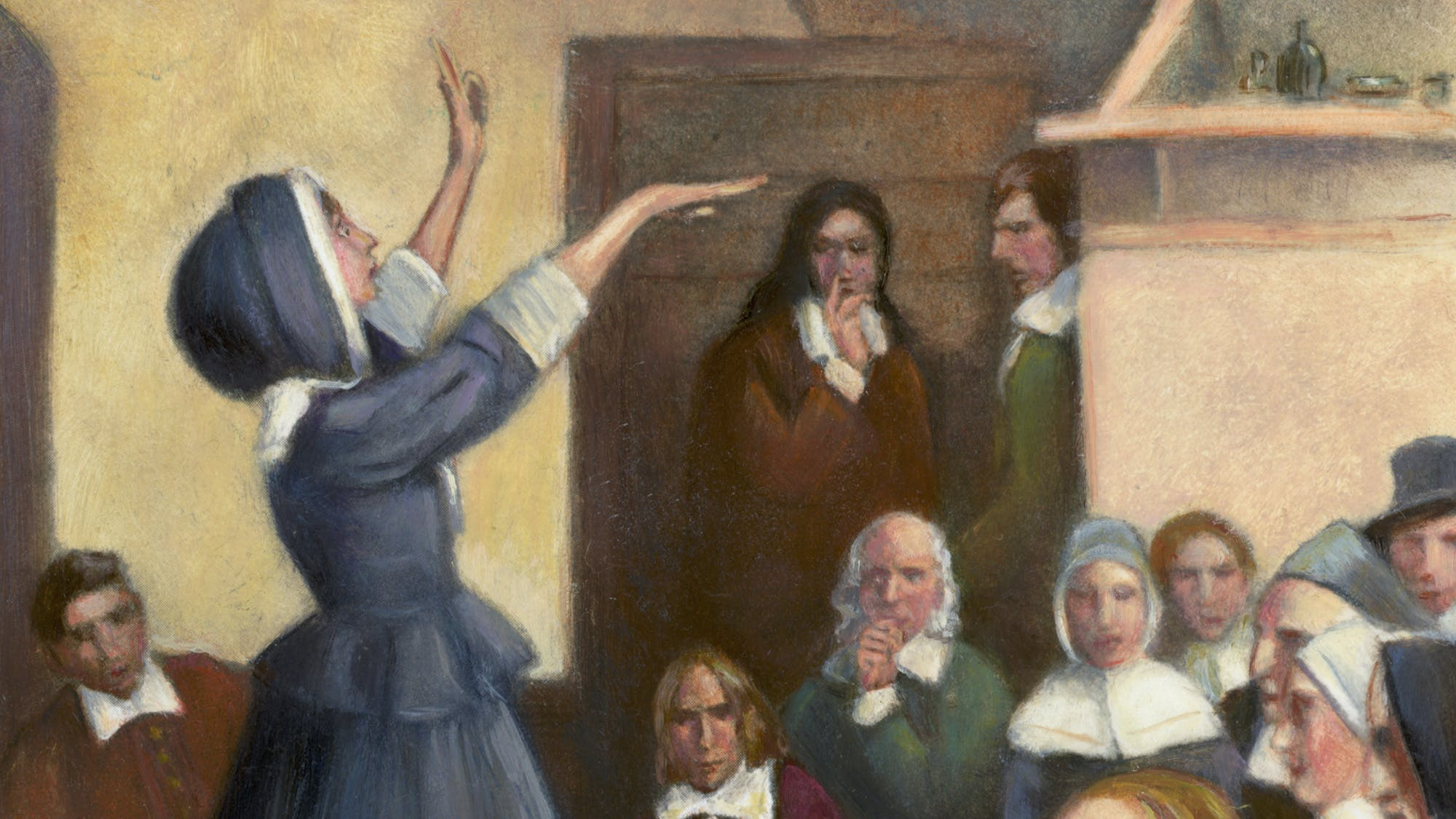 Virtual Presentation: Demon, Witch, Cannibal: Pennsylvania's Early Settlers and the Supernatural