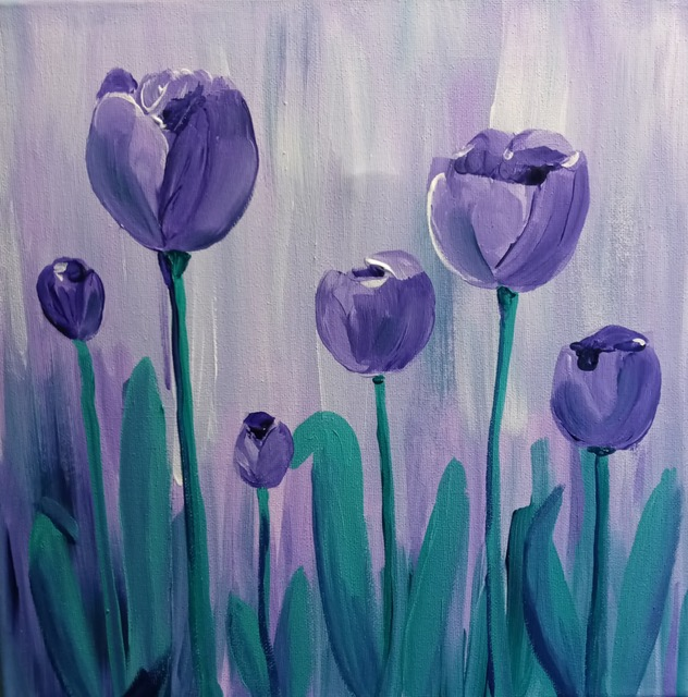 Painting Party with Joann Simone:  Spring Tulips