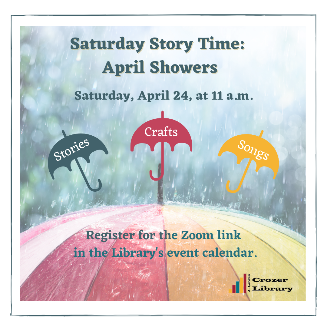 Saturday Story Time: April Showers