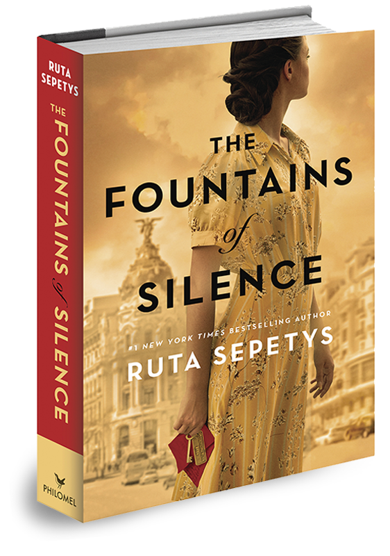 Virtual Reading Cafe Book Club: The Fountains of Silence Novel by Ruta Sepetys
